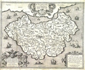 Karte von Utopia